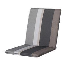 Stapelstoel kussen universal - Stripe grey