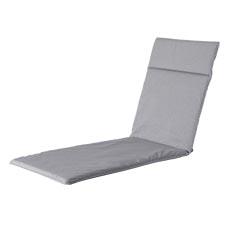 Ligbedkussen 190x60cm - Outdoor Manchester light grey