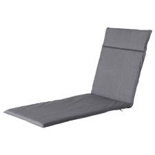 Ligbedkussen 190x60cm - Outdoor Oxford grey