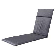 Ligbedkussen 190x60cm - Outdoor Velvet/panama grey