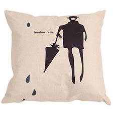 Sierkussen 45x45 - Gentleman umbrella