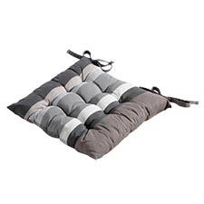 Zitkussen Toscane 46x46cm - Stripe grey