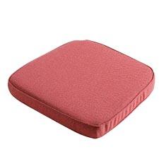 Zitkussen wicker universeel premium 48x48cm - Outdoor Manchester red