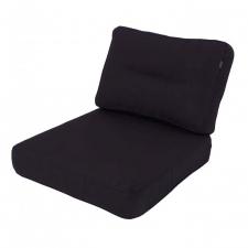 Loungekussen zit en rug 60x60 Carré - Havana dark grey