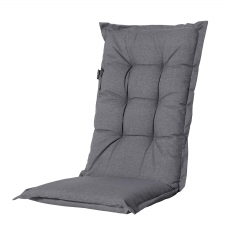 Tuinkussen lage rug - Outdoor Oxford grey