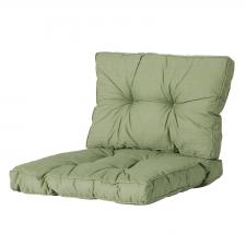 Loungekussen zit en rug 70x70 Florance - Basic green
