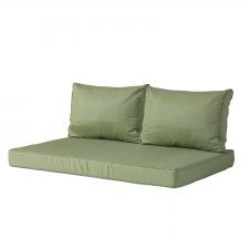 Palletkussen zit en rug Carré (120x80cm) - Basic green
