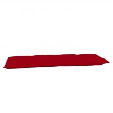 Bankkussen 140cm - Pedro red (waterafstotend)
