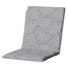 Tuinkussen lage rug universal - Outdoor Palm grey