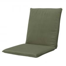 Tuinkussen lage rug universal - Outdoor Velvet/oxford green