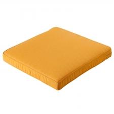 Loungekussen 60x60cm - Carré Panama golden glow