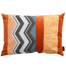 Sierkussen 60x40cm - Velvet match orange