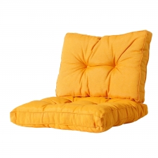 Loungekussen zit en rug 70x70 Florance - Panama golden glow