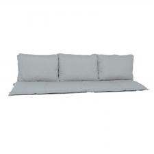 Bankkussen zit en rug 180cm Carré (180x50cm) - Basic grey