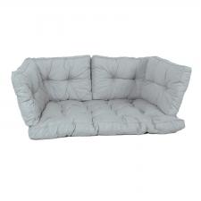 Palletkussen zit/arm/rug florance (120X80cm) - Basic grey