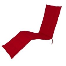 Deckchairkussen - Pedro red (waterafstotend)