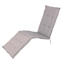 Deckchairkussen - Pedro light grey (waterafstotend)