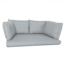 Palletkussen zit/arm/rug carré (120X80cm) - Basic grey