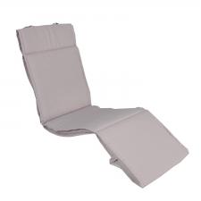 Relax kussen 170x50cm - Pedro light grey (waterafstotend)