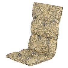 Textileenkussen hoge rug - Lily yellow