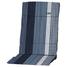 Textileenkussen hoge rug - Jonna blue