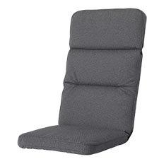 Tuinkussen hoge rug excellent - outdoor Manchester grey