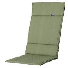 Textileenkussen hoge rug - Basic green