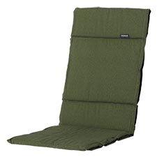 Textileenkussen hoge rug - Panama green