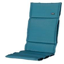Textileenkussen hoge rug - Panama Sea blue