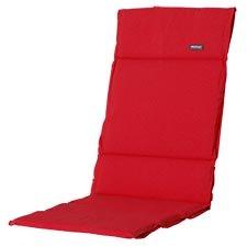 Textileenkussen hoge rug - Panama Red