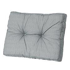 Loungekussen ruggedeelte 70x40cm florance - Basic grey