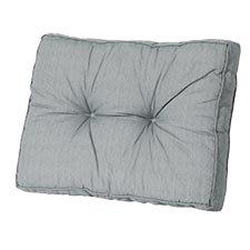 Loungekussen ruggedeelte 60x40cm florance - Basic grey