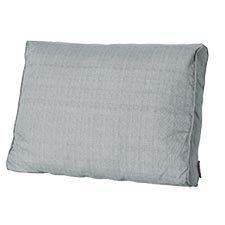 Loungekussen ruggedeelte 60x40cm carré - Basic grey
