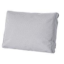 Loungekussen ruggedeelte premium 60x40cm carré - Outdoor Manchester light grey