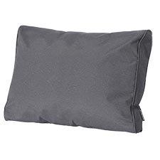 Loungekussen ruggedeelte 60x40cm carré - Outdoor Panama grey