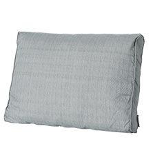 Loungekussen ruggedeelte 73x40cm carré - Basic grey