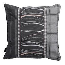 Sierkussen 50x50cm - Lines grey