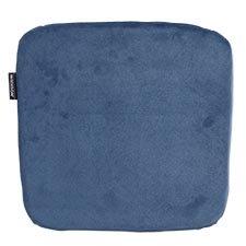 Sophie zitkussen 40x40cm - Outdoor Velvet blue