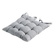 Zitkussen Toscane 46x46cm - Panama light grey