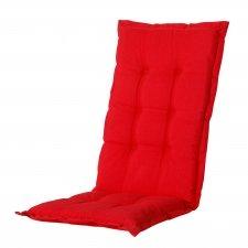 Tuinkussen hoge rug - Panama Red
