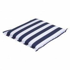 Hockerkussen 50x50cm - Carlos blue