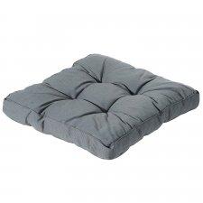 Loungekussen 60x60cm florance - Rib grey