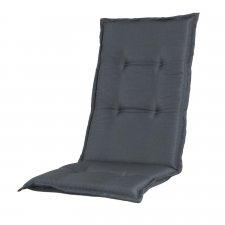 Tuinkussen hoge rug - Pedro grey (waterafstotend)