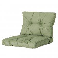 Loungekussen zit en rug 60x60cm Florance - Basic green
