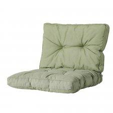 Loungekussen zit en rug 70x70cm Florance - Panama sage