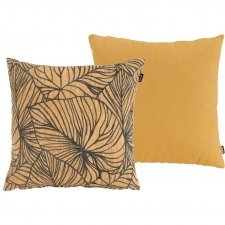 Sierkussenset - Cuba yellow 50x50cm en Lily yellow 50x50cm