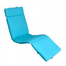 Relax kussen 170x50cm - Pedro blue (waterafstotend)