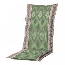 Tuinkussen hoge rug universal - Ikatin green